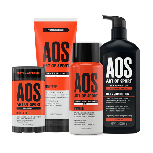 Deo + Shampoo + Body Wash + Lotion Kit 50.00% Off