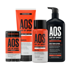 Deo + Shampoo + Body Wash + Lotion Kit