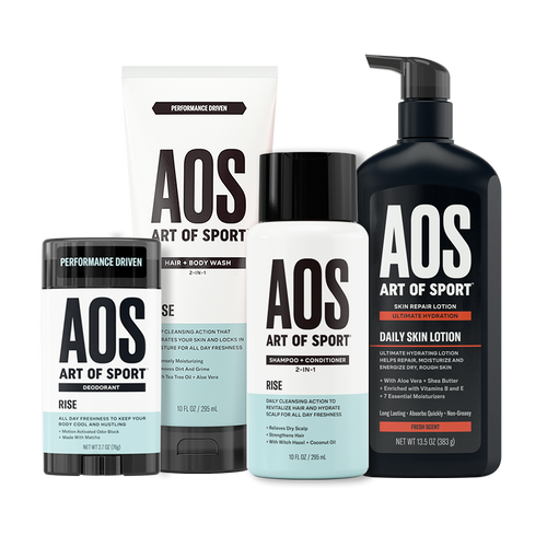 Deo + Shampoo + Body Wash + Lotion Kit - 6 Month Supply