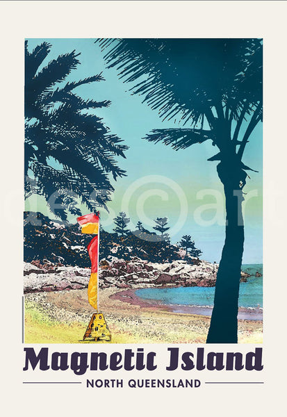 Alma Bay, Magnetic Island, Townsville Poster with watermark