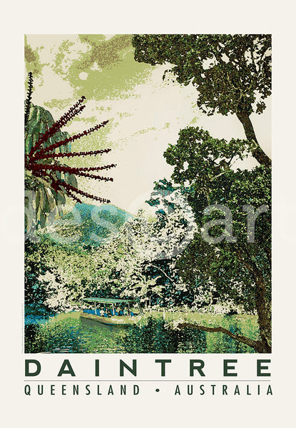 Queensland Poster 'Daintree'