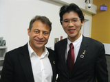 Meeting Founder of X Prize & Singularity University Peter Diamandis