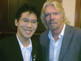 Michael Teoh and Richard Branson