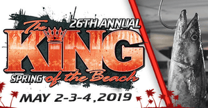 King of the Beach May 2-4 : Come see us!