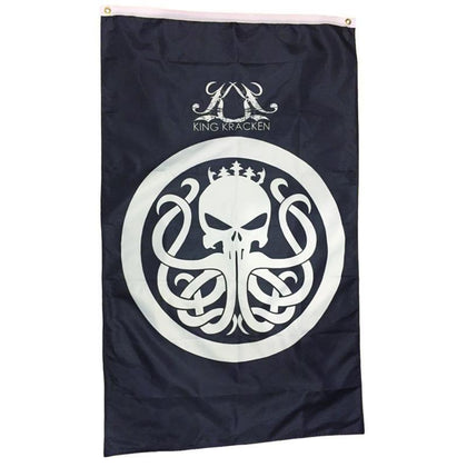 Kracken Double Sided Pirate Flag