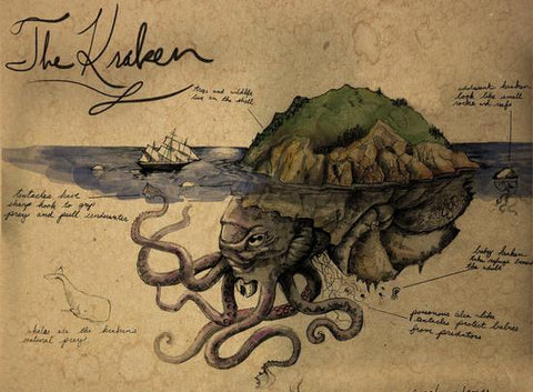 The Kracken Has Ability To Control Mermaids Act On His Behalf As Lure In Sailors And Pirates Steals Their Souls