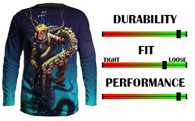 Navy salvage diver UV performance shirt