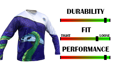 Men's Team Jersey performance fishing long sleeve shirt