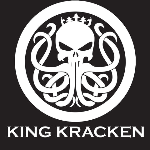 "Custom 11"" x 11"" Truck/Boat Sticker - King Kracken Outdoor Clothing Co."
