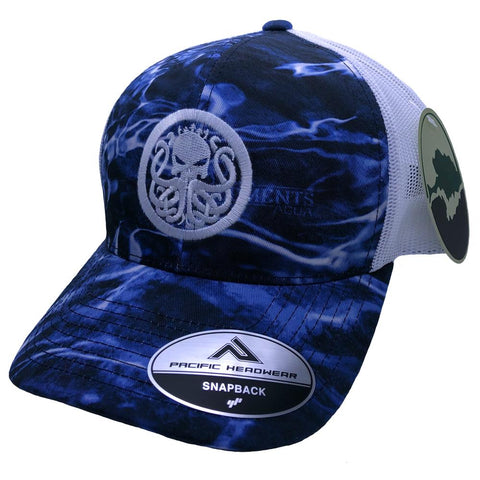Mossy Oak Aqua Camo Snapback - Best Fishing Performance Shirts