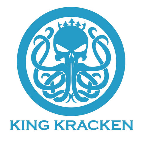Boaters Blue Sticker - King Kracken Outdoor Clothing Co.