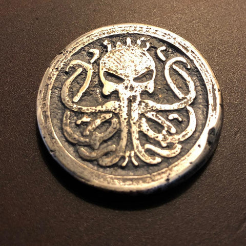 Kracken Doubloon Coin - king-kracken