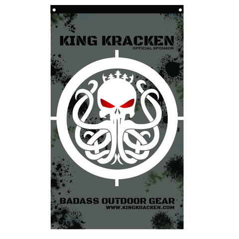 Kracken Tactical Flags - Full Size - Best Fishing Performance Shirts