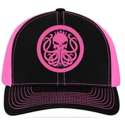 Hot Pink Snap Back Hat - Best Fishing Performance Shirts