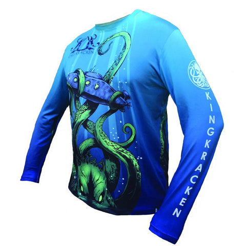 The Emperor Sub Jersey [ Clearance ] - Best Fishing Performance Shirts