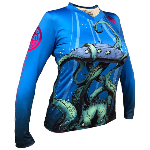 Women's Performance Shirt  - Emperors Sub Shirt - King Kracken Outdoor Clothing Co.