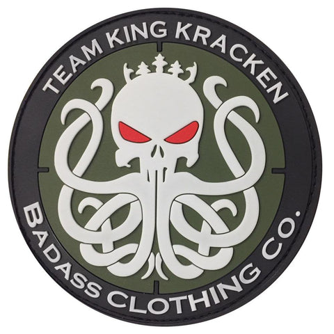 PVC Tactical Patch - King Kracken Outdoor Clothing Co.