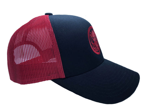 Red Dragon Snapback Hat - king-kracken
