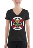 Women V-Neck T - king-kracken