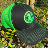 Neon Green Snap Back Hat - king-kracken