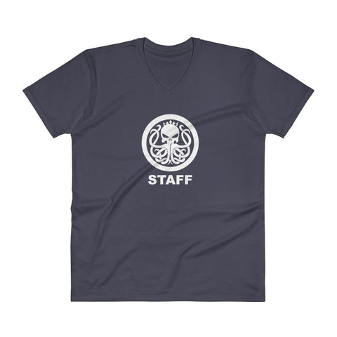 Staff Only V-Neck Shirt - king-kracken