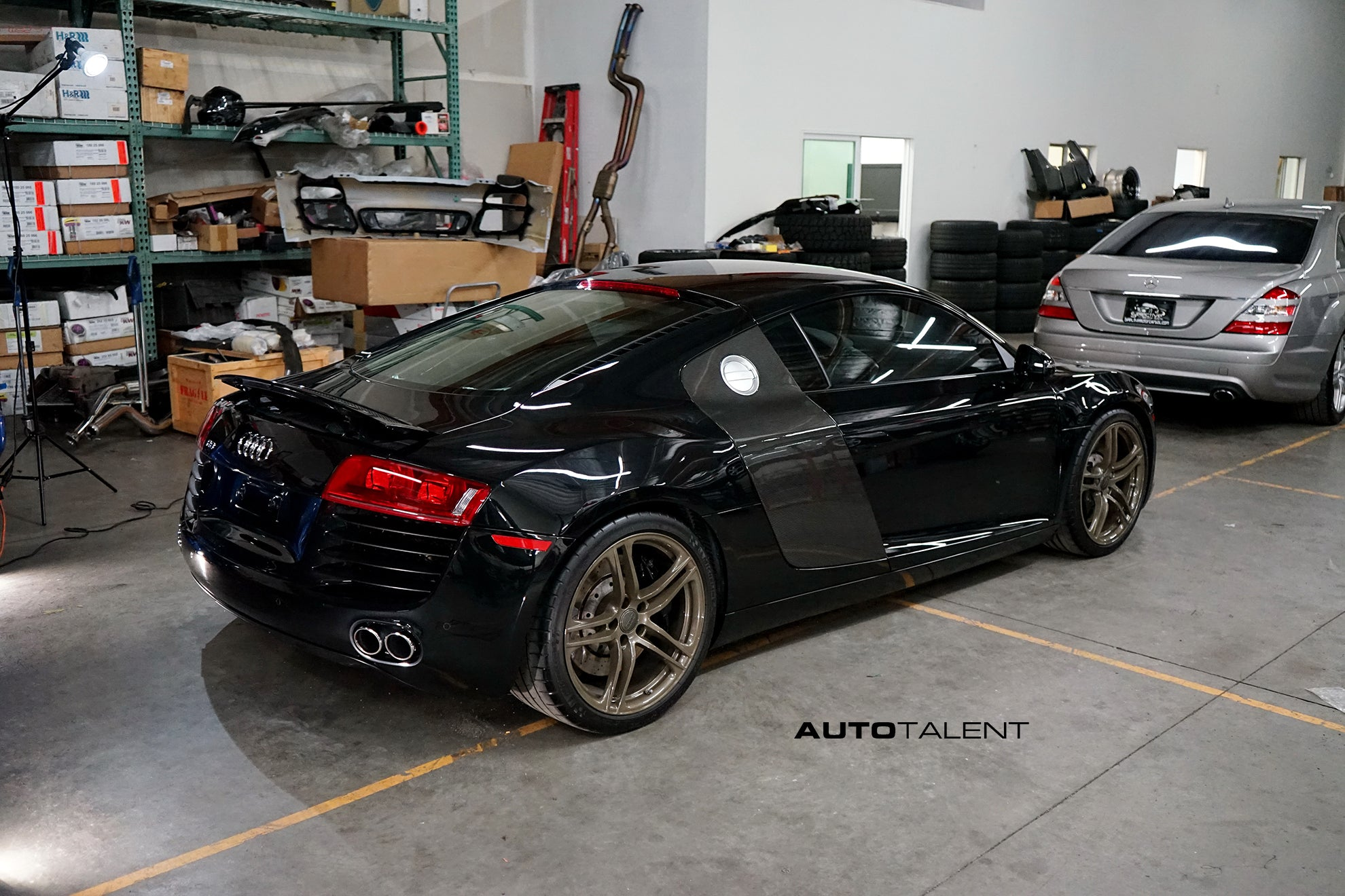 Audi R8 Paint Protection