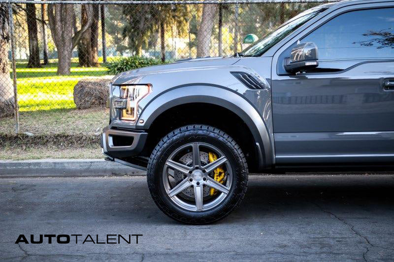 front end gen 2 raptor with lift kit