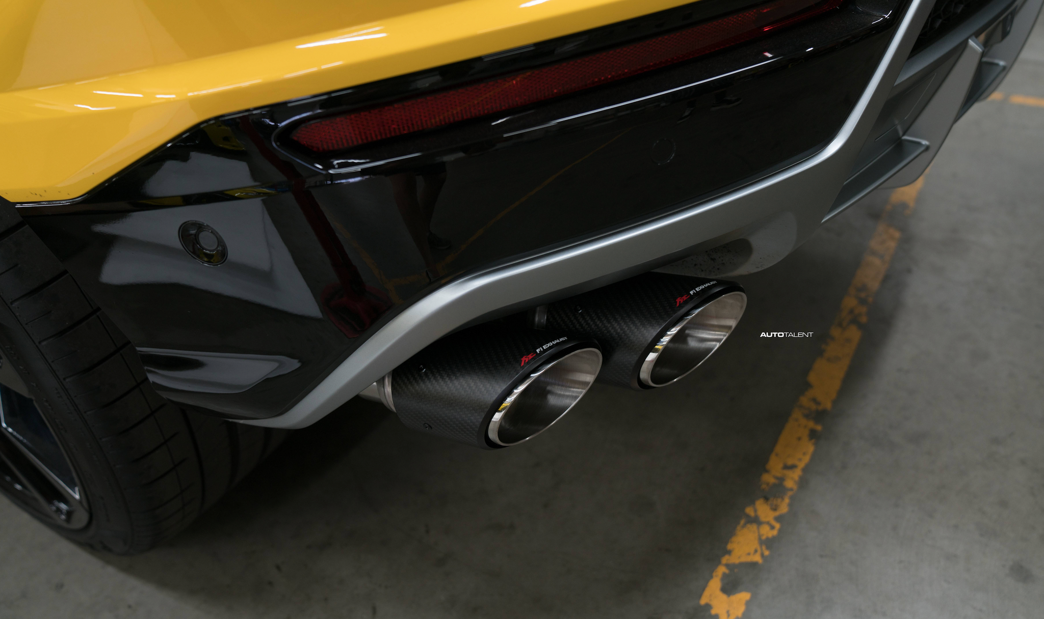 FI Urus Exhaust installed