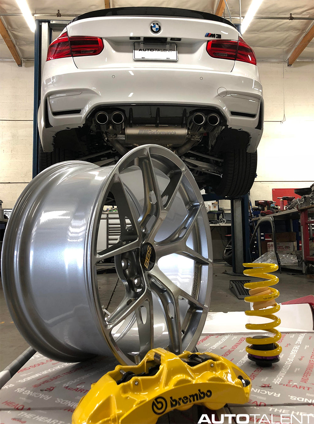 BMW F80 M3 BBS FIR FI-R Brembo Big Brake Kit BBK KW HAS H.A.S.