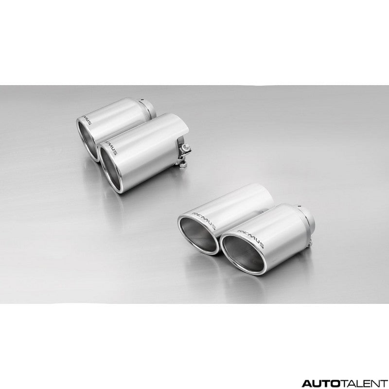 Remus Axle-Back Exhaust System - PORSCHE Panamera S/4S 970 & S/4S Facelift 970