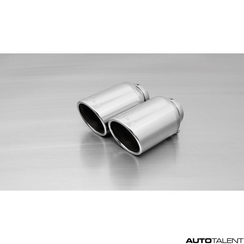 Remus Axle-Back Exhaust System - VOLKSWAGEN Golf VII R 4motion Facelift Type AU, 2017