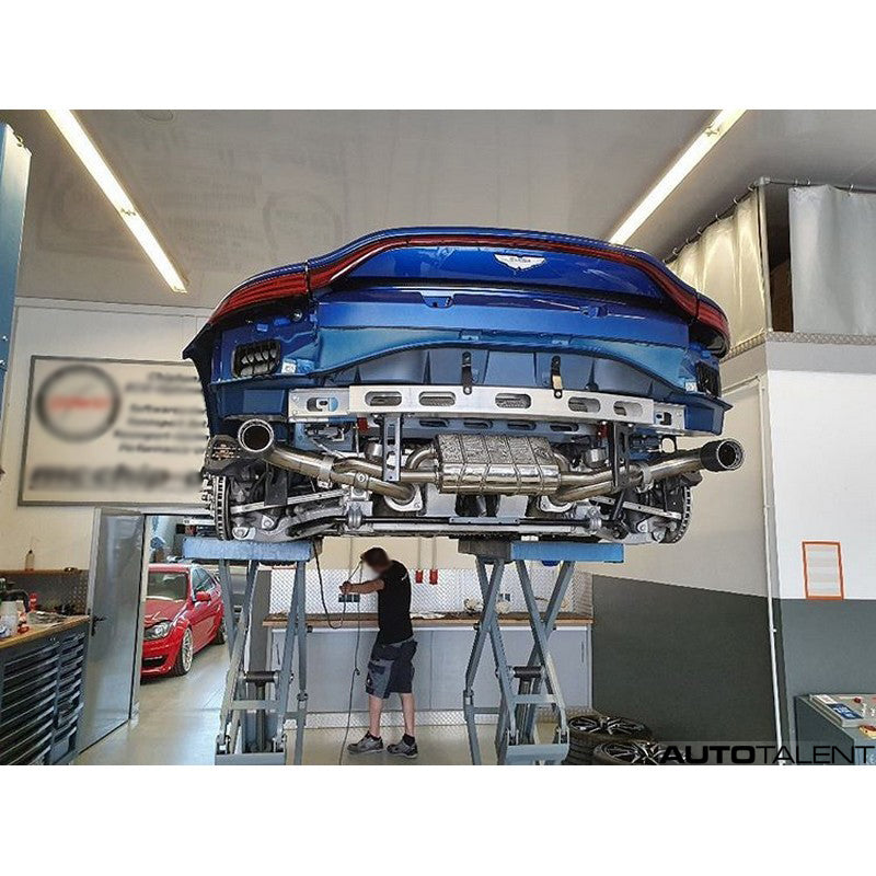 Capristo Exhaust Valved Axle Back System For Aston Martin Vantage Amr Autotalent