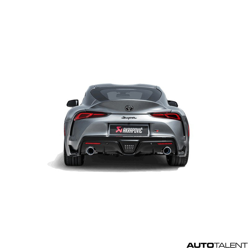 Akrapovic Slip-On Line Titanium Exhaust For Toyota Supra A90 - AutoTalent