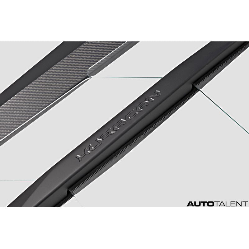 Capristo Aero Carbon and Glass Bonnet without Scoops For Lamborghini Huracan 2016-2019
