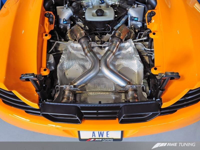 AWE Tuning McLaren MP4-12C Performance Exhaust - Machined Tips - AutoTalent