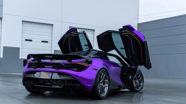 1016 Industries Aero Carbon Rear Wing For Mclaren 720S - AutoTalent