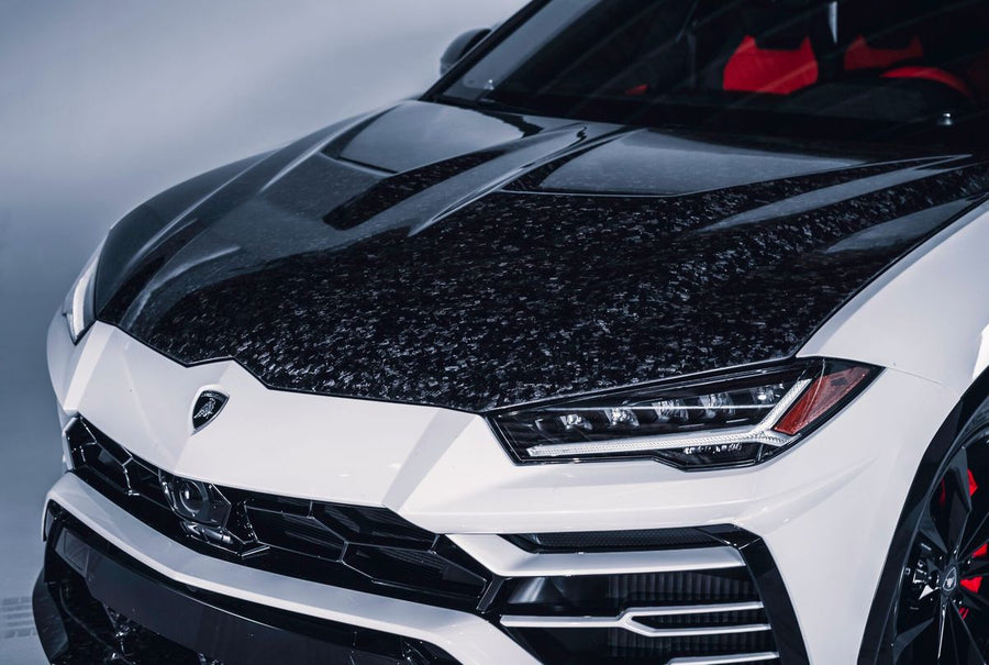 1016 Industries Aero Forged Carbon Hood Mesh For Lamborghini Urus - Autotalent