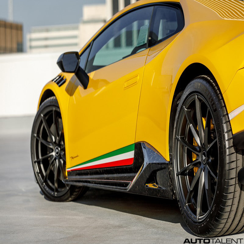Vorsteiner Vicenzo Edizione Aero Carbon Side Blades For Lamborghini Huracan Performante 2017-2019