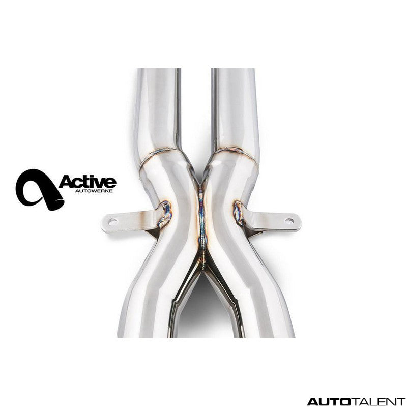 Active Autowerke Signature X-Pipe For Bmw E9X M3 2008-2013