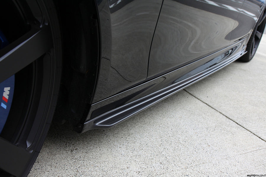 3D Design F10 M5 Carbon Fiber Side Skirt Set - main view