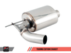 AWE Tuning BMW F3X 340i Touring Edition Axle Back Exhaust - Chrome Silver Tips (90mm) - autotalent