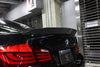 BMW F10 Carbon fibre Trunk spoiler - Front view