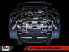 AWE Tuning 991.2 Carrera / S SwitchPath Exhaust for PSE Cars - Diamond Black Tips - autotalent