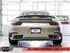 AWE Tuning Porsche 991.2 Turbo Performance Exhaust and High-Flow Cat Sections - For Use With OE Tips - autotalent