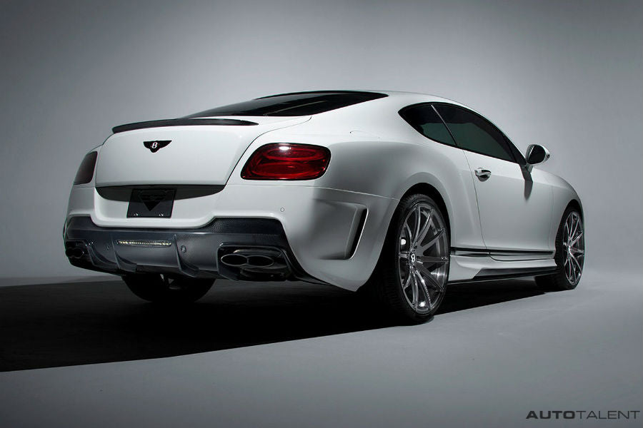 Vorsteiner Aero Side Skirts Carbon Fiber PP 2x2 Glossy BENTLEY CONTINTENTAL GT COUPE V8 BR-10RS PROGRAM (FACELIFT)