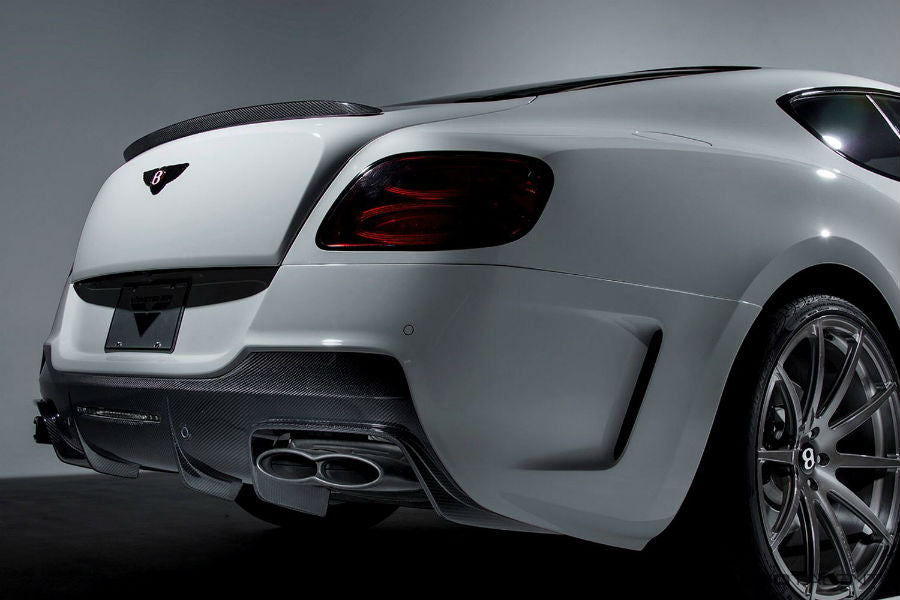 Vorsteiner Aero Decklid Spoiler Carbon Fiber PP 2x2 Glossy BENTLEY CONTINTENTAL GT COUPE V8 BR-10RS PROGRAM (FACELIFT)