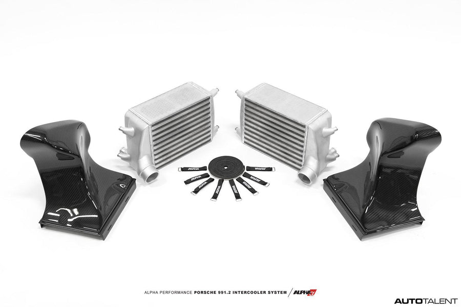 Alpha Performance AMS Porsche 991.2 Carrera Intercooler Kit - autotalent
