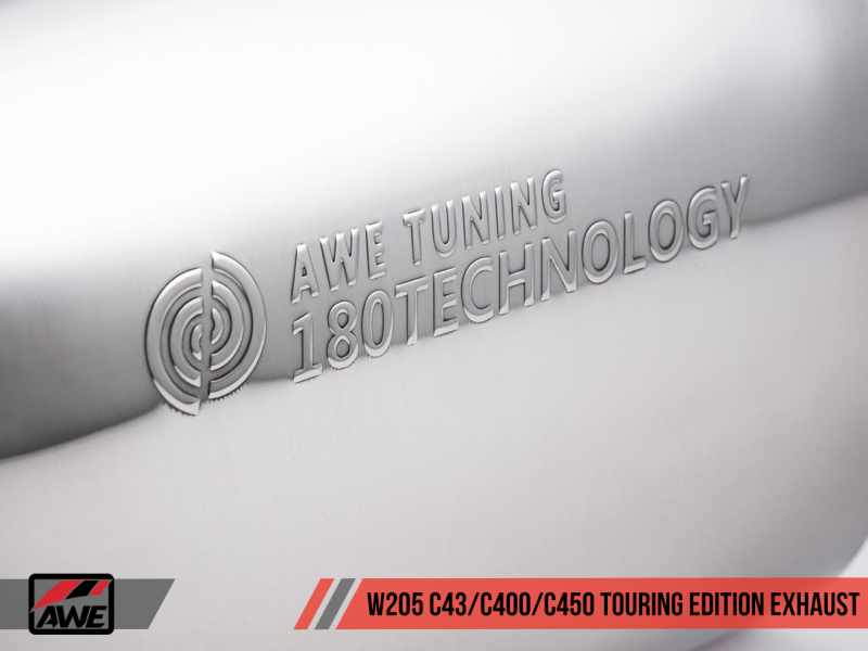 AWE Tuning Mercedes-Benz W205 C450 AMG / C400 Touring Edition Exhaust