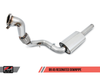 AWE Tuning B9 A5 SwitchPath Exhaust, Dual Outlet - Chrome Silver Tips (includes DP and SwitchPath Remote) - autotalent
