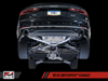 AWE Tuning B9 A5 SwitchPath Exhaust, Dual Outlet - Diamond Black Tips (includes DP and SwitchPath Remote) - autotalent